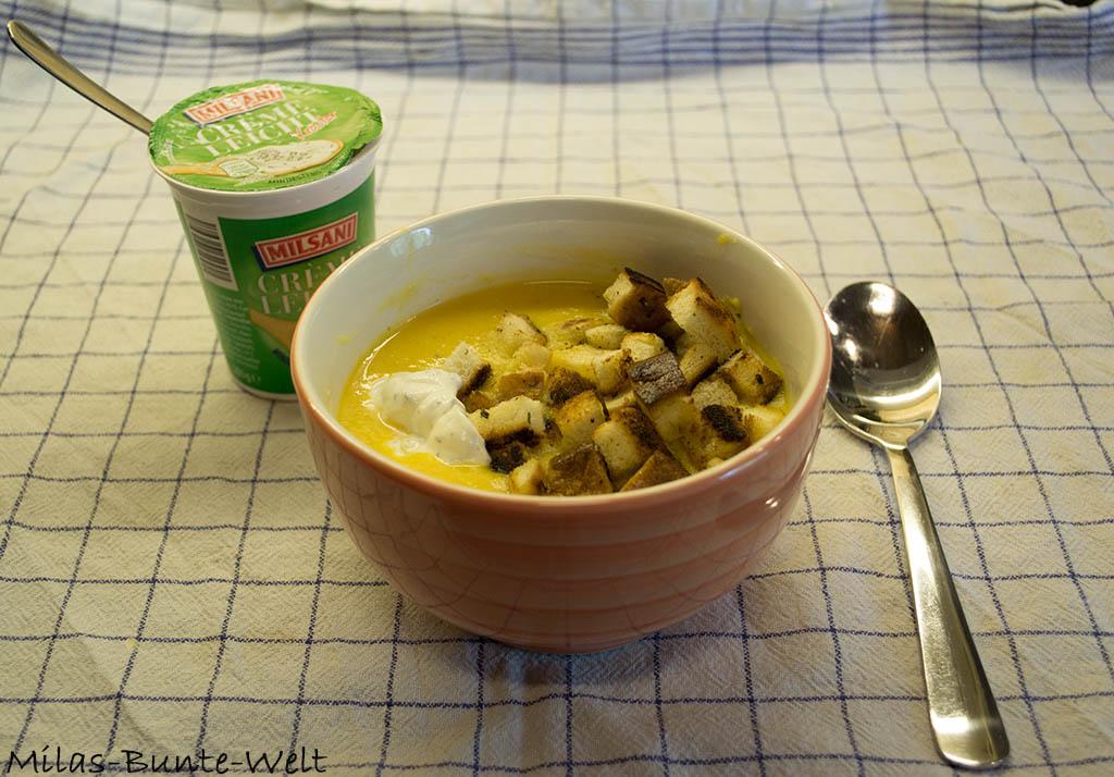Karotten/Orangen Süppchen an Ingwer