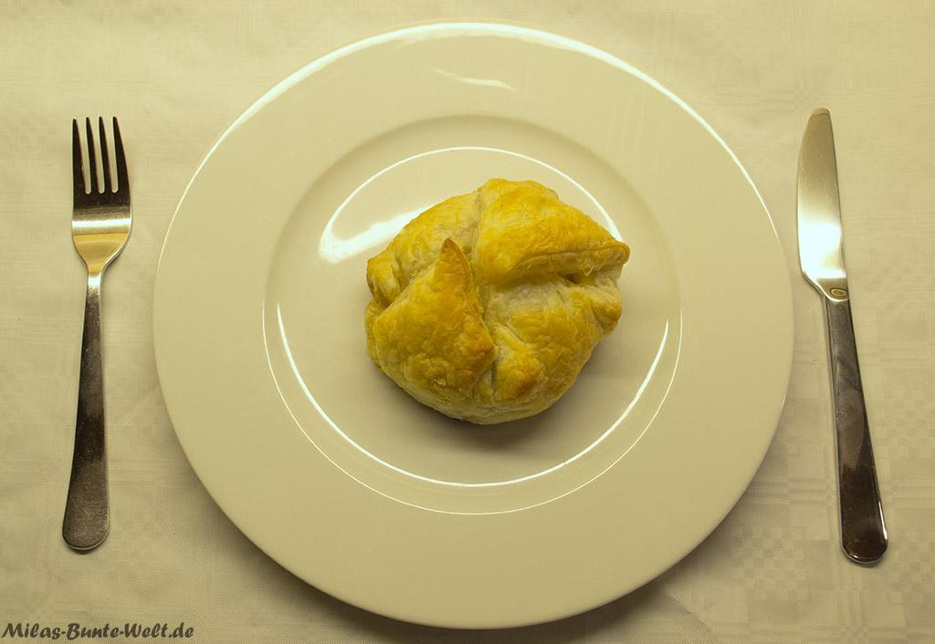 Blätterteigpasteten mit Hühnchen & Garnelen