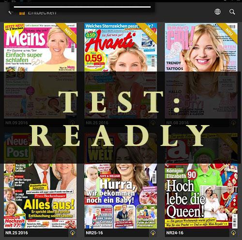 Test: READLY – Die Zeitschriften APP