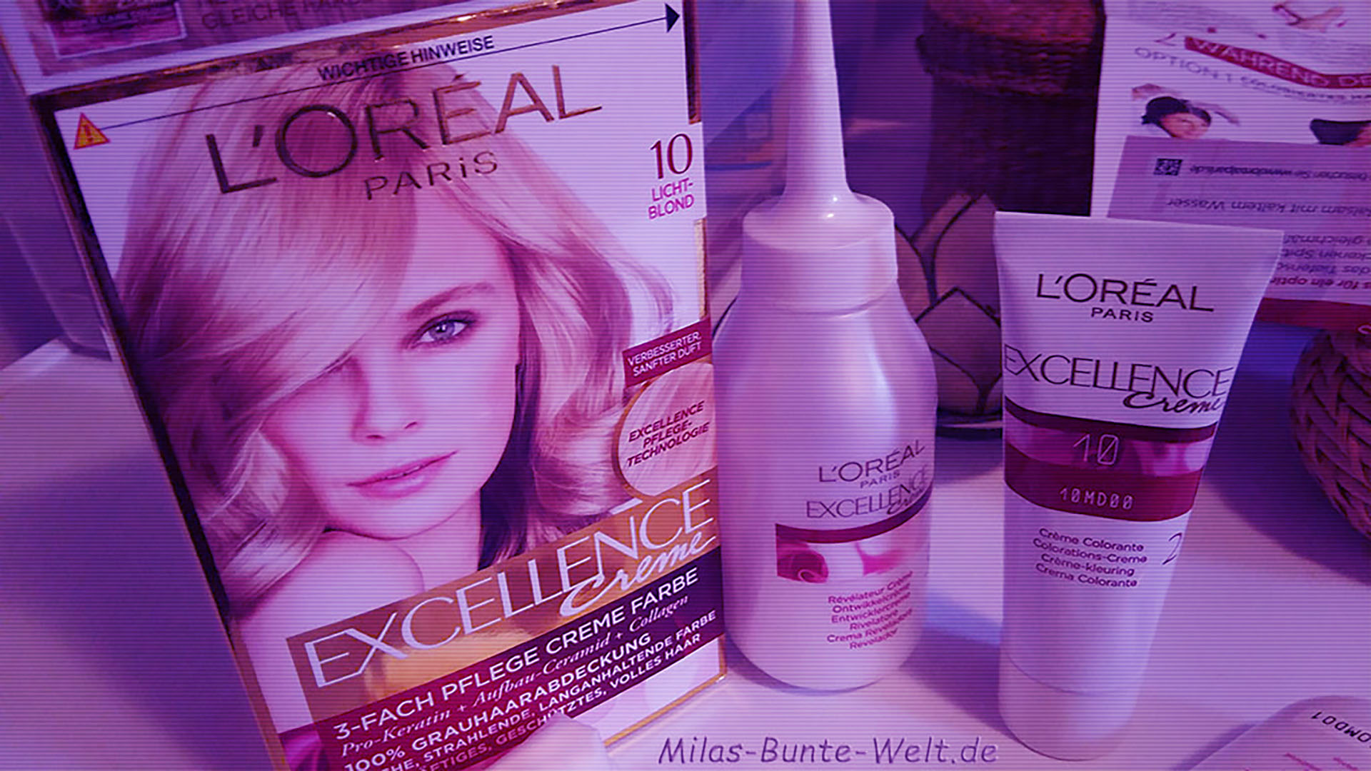 Finally blonde again… ( L´Oreal Excellence Creme – 10 Lichtblond )