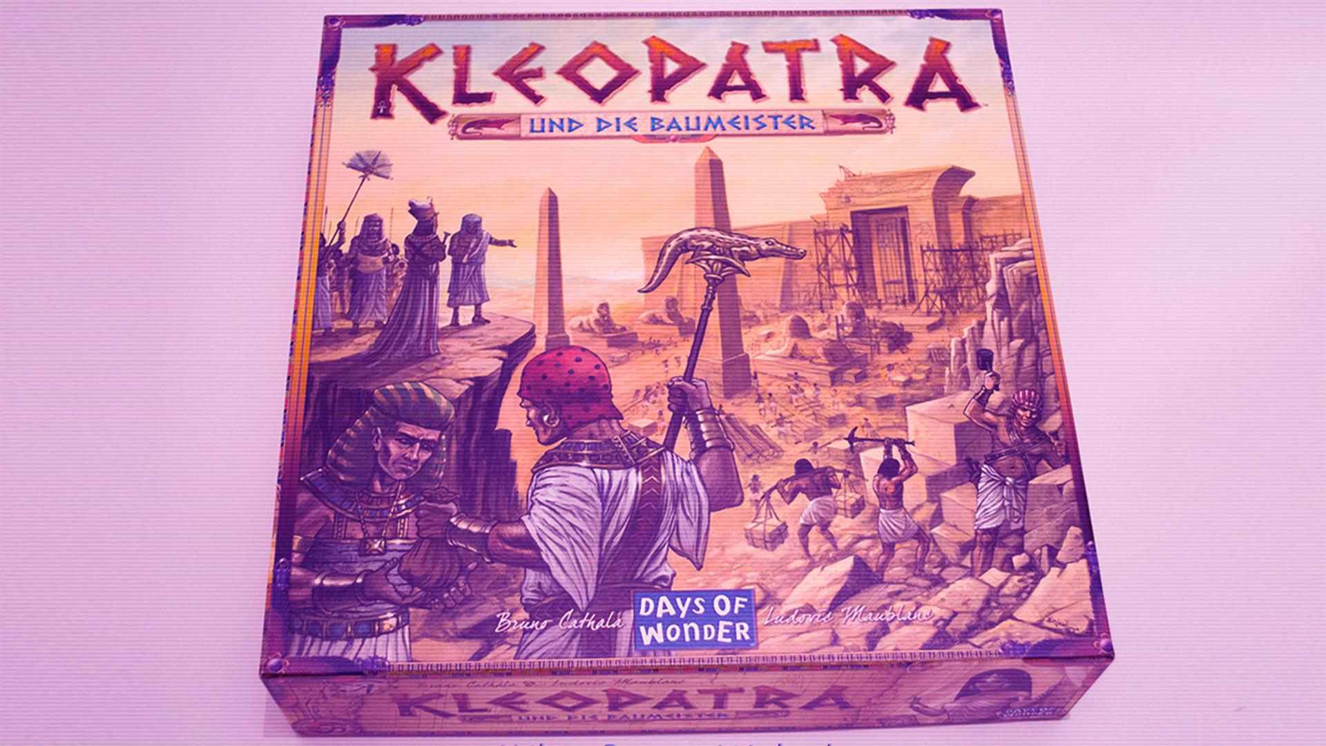 Brettspielrezension: Kleopatra und die Baumeister