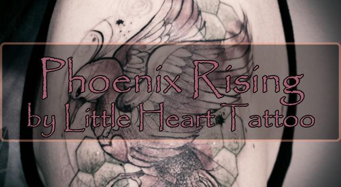 Phoenix Rising (by Little Heart Tattoo)
