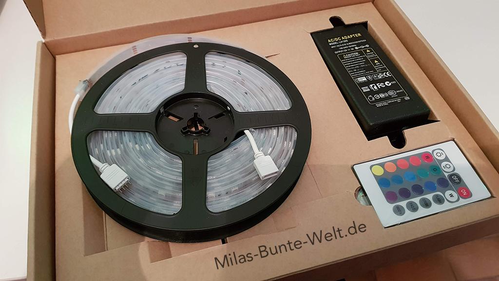 Mila testet: Salcar RGB Lichtschlauch (*Werbung)